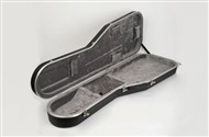 Hiscox STD-EBS Bass Guitar Hard Case, Black/Silver