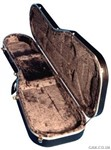 Hiscox STD-SG Guitar Hard Case, Black/Silver