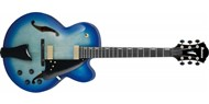Ibanez AFC155-JBB Semi-Acoustic Electric Guitar (Jet Blue Burst)
