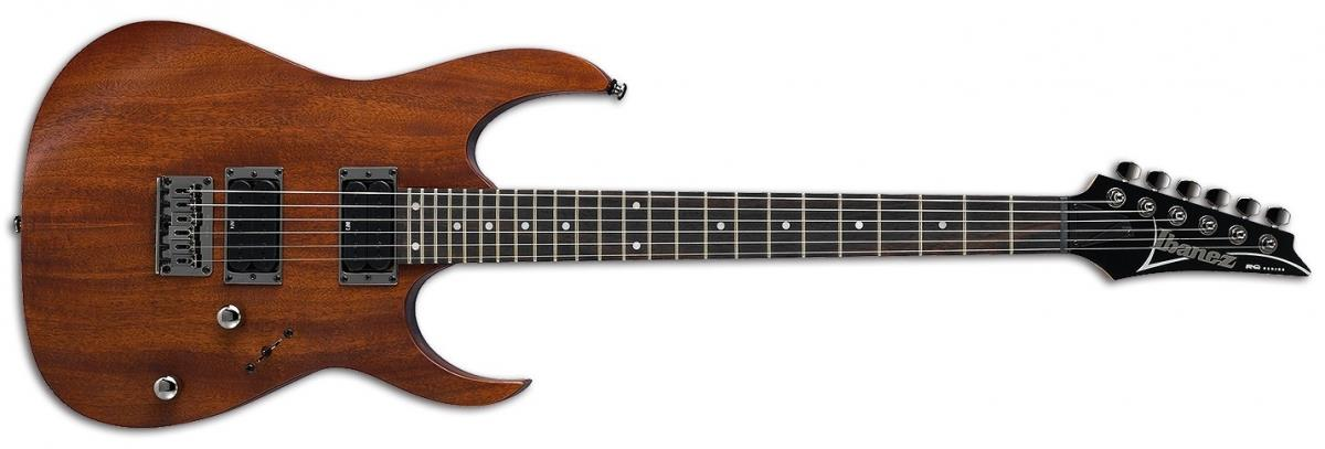 Image of the front of the Ibanez RG421