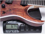 IbanezRGAIX6UABS-Weight