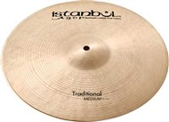 Istanbul Traditional Medium Hi-Hats 13in