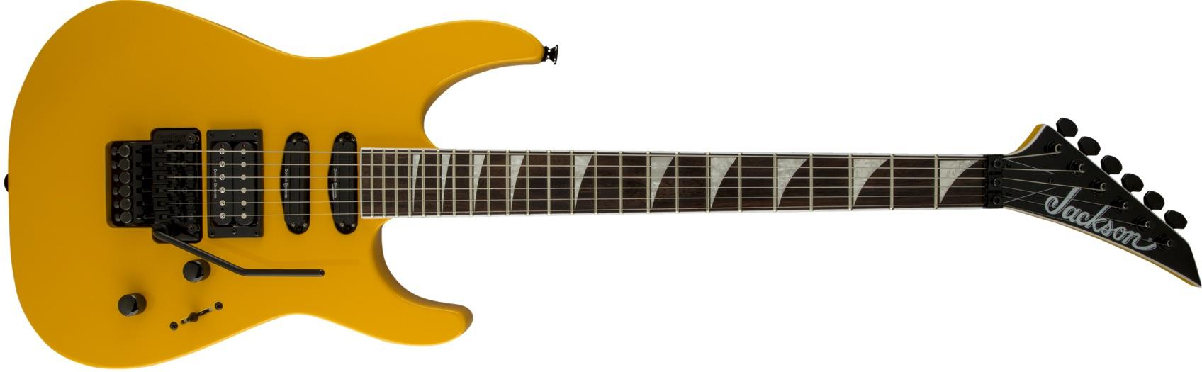 Jackson SL3X Soloist (Taxi Cab Yellow) Electric Guitars