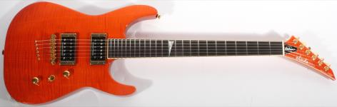 Jackson USA Custom Shop SL2HT Soloist FMT (Sunset Orange)
