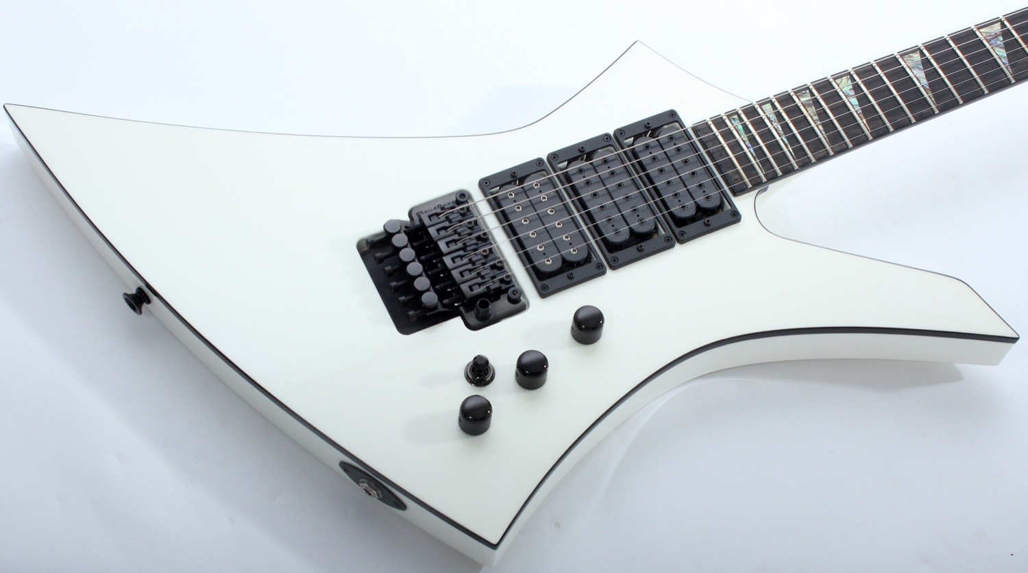 Jackson USA Custom Shop Special Edition 3-Pickup Kelly (Snow White)