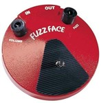 Dunlop F2 Fuzz Face Red Pedal