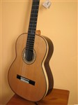 Joan Cashimira Model 145 Blonde Streak (Solid Canadian Cedar Top), Damaged