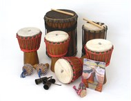 African Drumming Kit