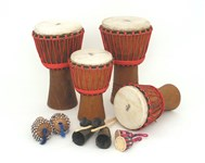 Djembe Drumming Kit