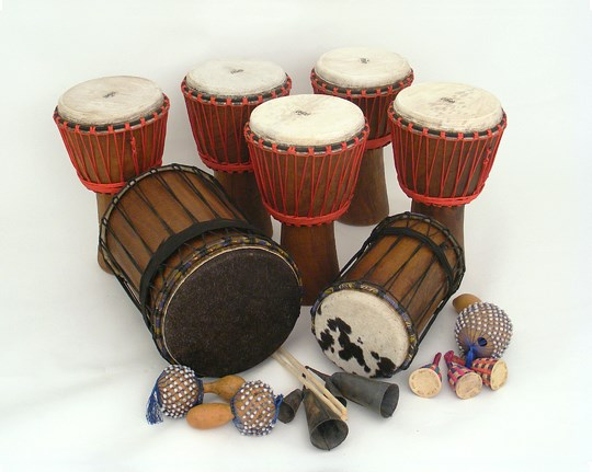 African Drumming Kit - For 15 Players