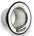 KickPort KP2 Bass Drum Port, Chrome