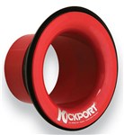 KickPort KP2 Bass Drum Port, Red