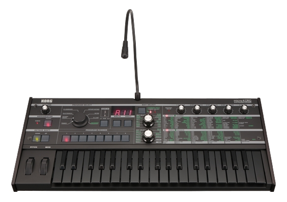 Korg microkorg 10th anniversary limited edition all black.