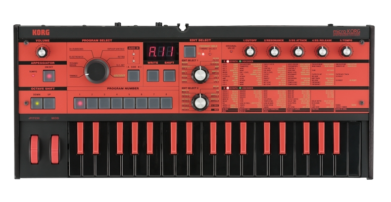Korg microkorg limited edition black red unboxing youtube.