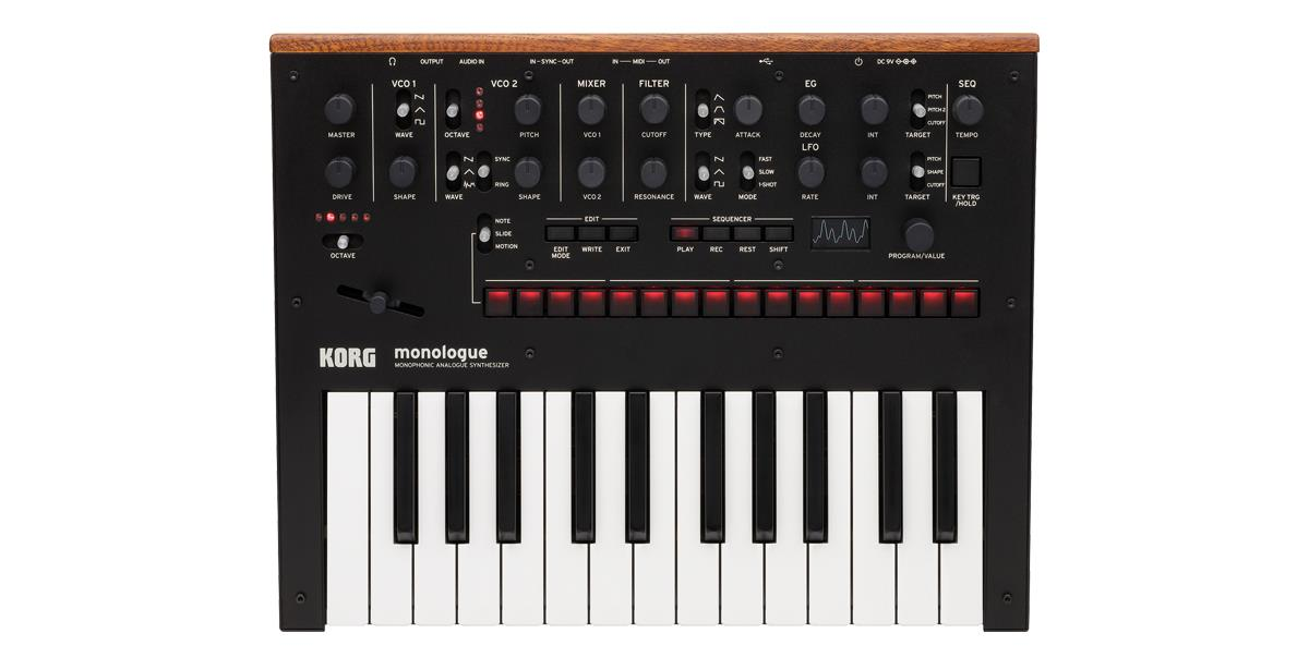 Korg Monologue Analogue Synthesizer Main