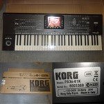 Korg Pa3X Professional Arranger Keyboard 61 Note Ex Demo