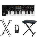 Korg PA4X 61 Professional Arranger Keyboard Bundle