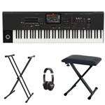 Korg PA4X Oriental 76 Keyboard bundle