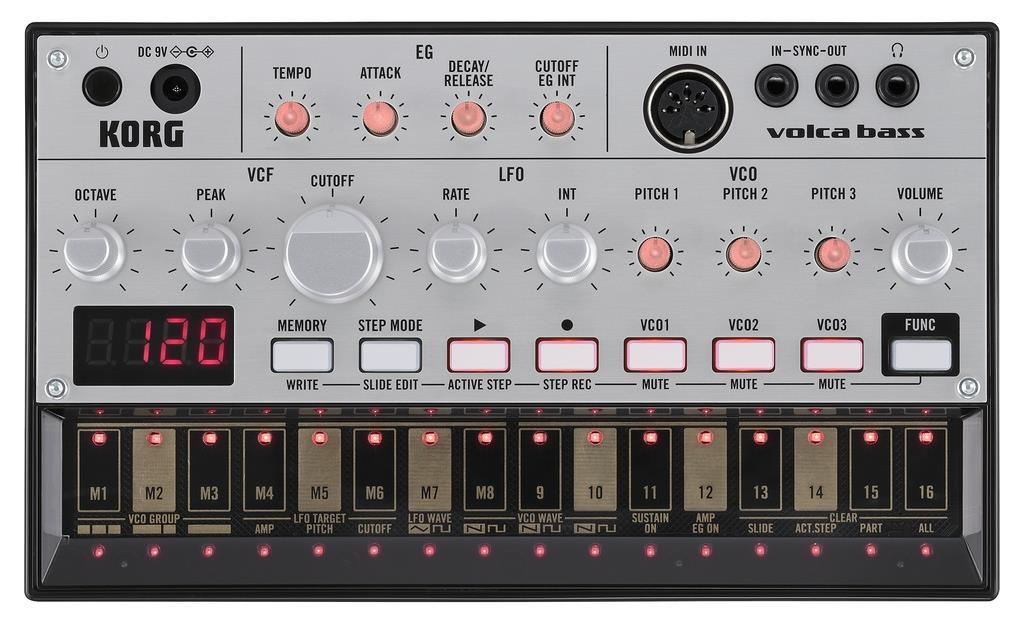 Korg Volca Bass Main