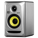 KRK Rokit RP4 G3 Powered Studio Monitor, Silver