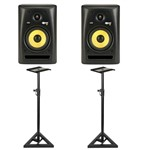 KRK Rokit RP8 G3 (Pair) With Monitor Stands