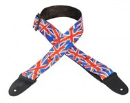 Levys MP-29 Polyester Guitar Strap (Union Jack)