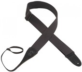 Levys MC8A Loop End Acoustic Guitar Strap (Black)
