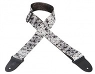 Levys MP-16 Polyester Guitar Strap (Skull)