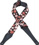 Levys MPD2-003 Nylon Strap (Flowers)