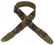Levys MC8-CAM 2 inch Cotton Guitar Strap (Camo)