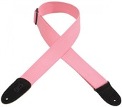 Levys MC8-PNK 2 inch Cotton Guitar Strap (Pink)