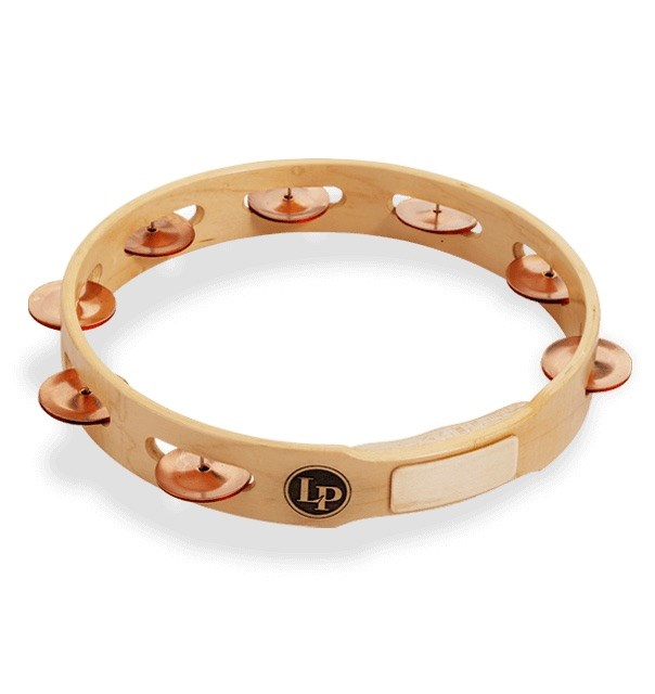Single Row Tambourine, Copper