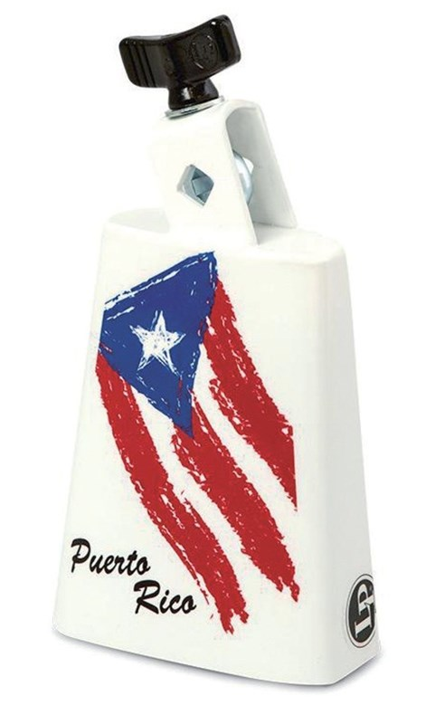 Puerto Rican Flag Cowbell
