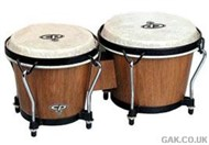LP CP Traditional Bongos (Dark Wood)