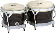 LP Generation II Bongos (Dark Wood/Chrome)
