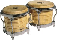 LP Generation II Bongos (Natural/Chrome)