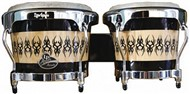 LP Aspire Accent Wood Bongos Scarab,  LPA601-SCC