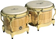 LP Matador Wood Bongos (Natural/Gold)
