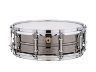 Ludwig Black Beauty 14x5 Hammered, Tube Lugs
