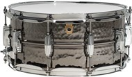 Ludwig Black Beauty Supraphonic Snare 14x6.5in, Hammered Shell, Imperial Lugs