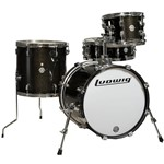 Ludwig Breakbeats by Questlove Street Kit (Black Gold Sparkle)