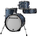 Ludwig Breakbeats by Questlove Street Kit (Azure Blue Sparkle)