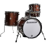 Ludwig Breakbeats by Questlove Street Kit (Wine Red Sparkle)
