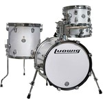 Ludwig Breakbeats by Questlove Street Kit, White Sparkle