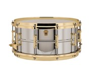 Ludwig Chrome Over Brass, 6.5 Tubes Brass Hardware