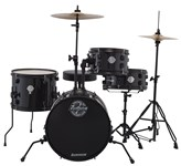 Ludwig Pocket Kit by Questlove, Black, front
