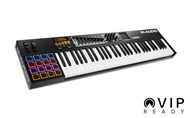 M Audio Code 61 Midi Keyboard (Black) angle