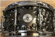 Armory Daisy Cutter 14x6.5in Hammered Steel Snare