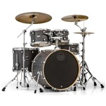 Mapex MA529S Mars Rock 5 Piece Shell Pack, Smokewood