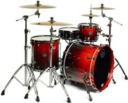 Mapex SV426XB Saturn V MH Exotic Classic Rock Shell Pack (Cherry Mist Maple Burl) - Special Order
